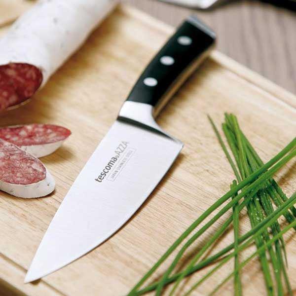 """סכין מטבח מחוזקת להב 9 ס""""מ"""