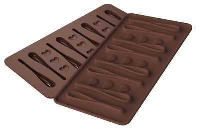 תבנית סיליקון לשוקולד/ קרח כפיות